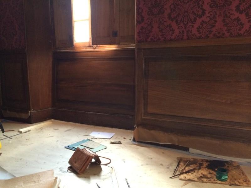 fae wood in chateau de montmarin