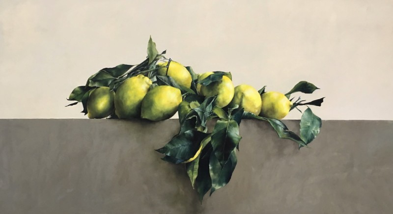 Composition with Positano lemons