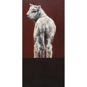 28,5.++Martiniello, 2016, olio su tela, 100x50cm, Palazzo della Provincia di Cosenza, Italia M