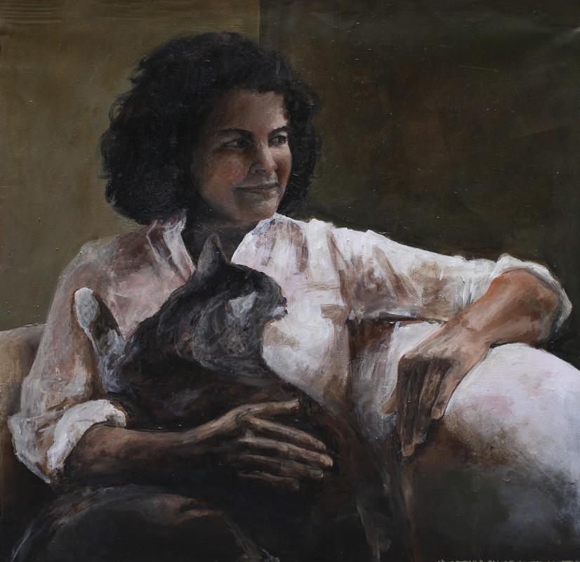 Mi mam con su gato costanza alvarez de castro for Alvarez de castro